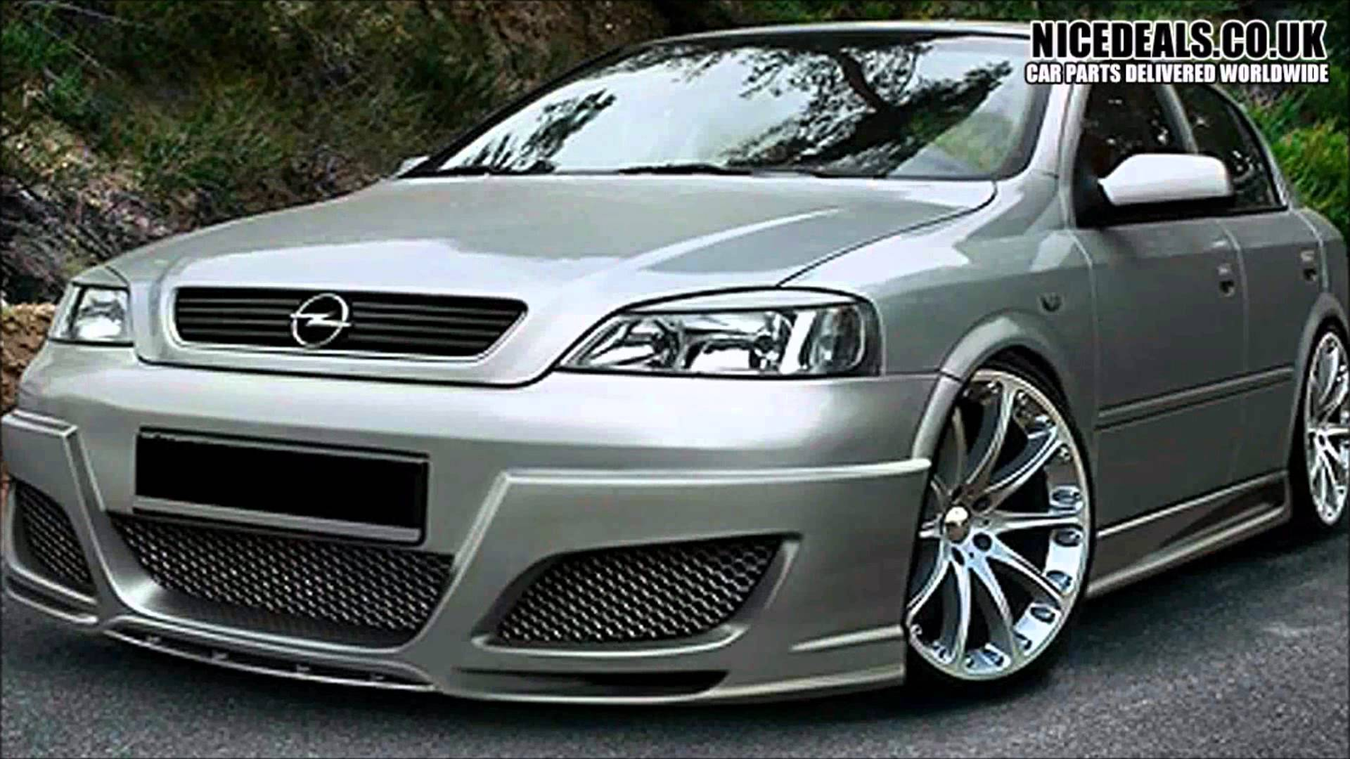 VAUXHALL ASTRA G BODY KITS, SPORTS BUMPERS, FENDERS, WINGS, SKIRTS