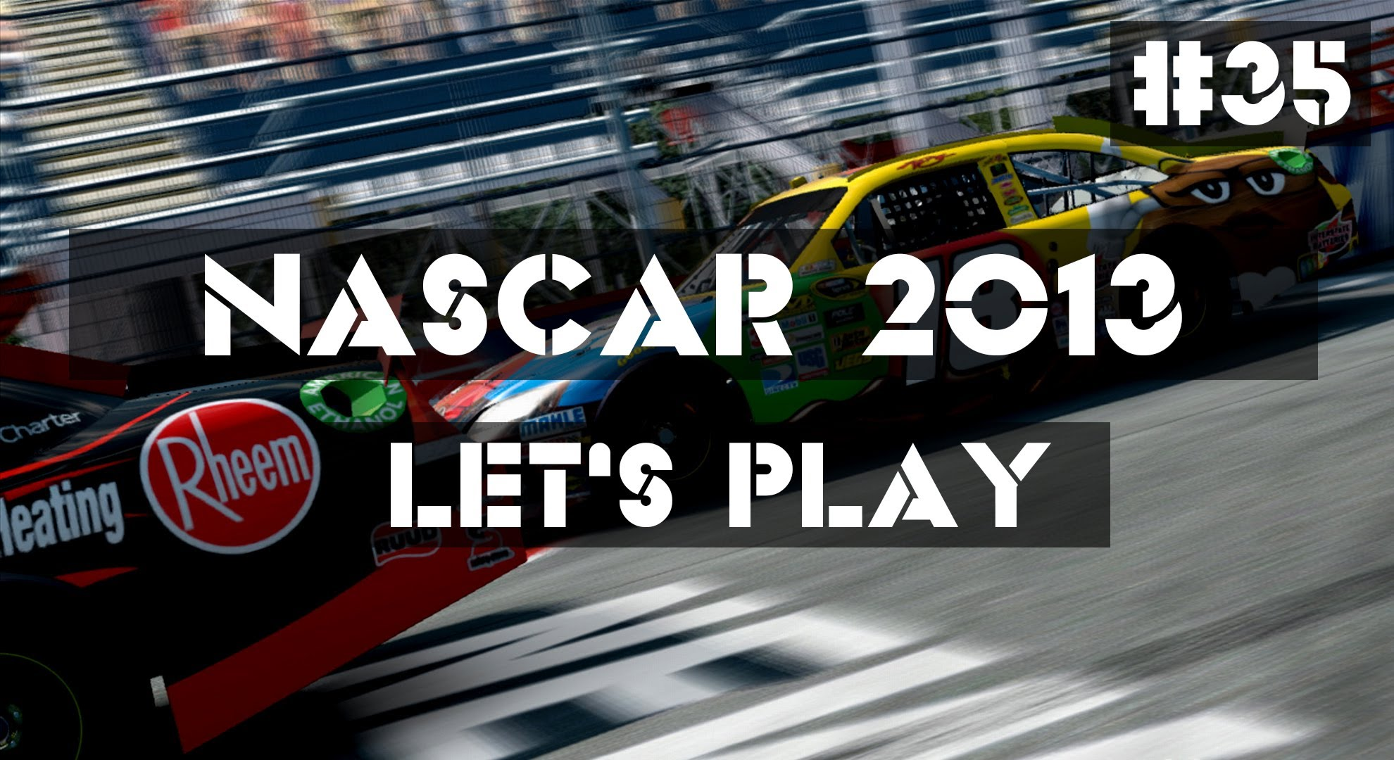 NASCAR The Game 2013 Career Mode Walkthrough Part 35 - Charlotte Motor Speedway (PC Gameplay ...