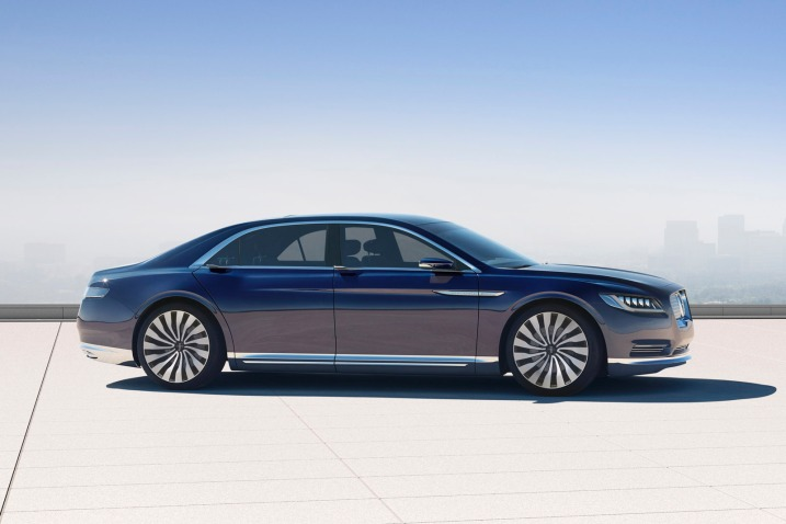 Ford Unveils Lincoln Continental Concept For 2016