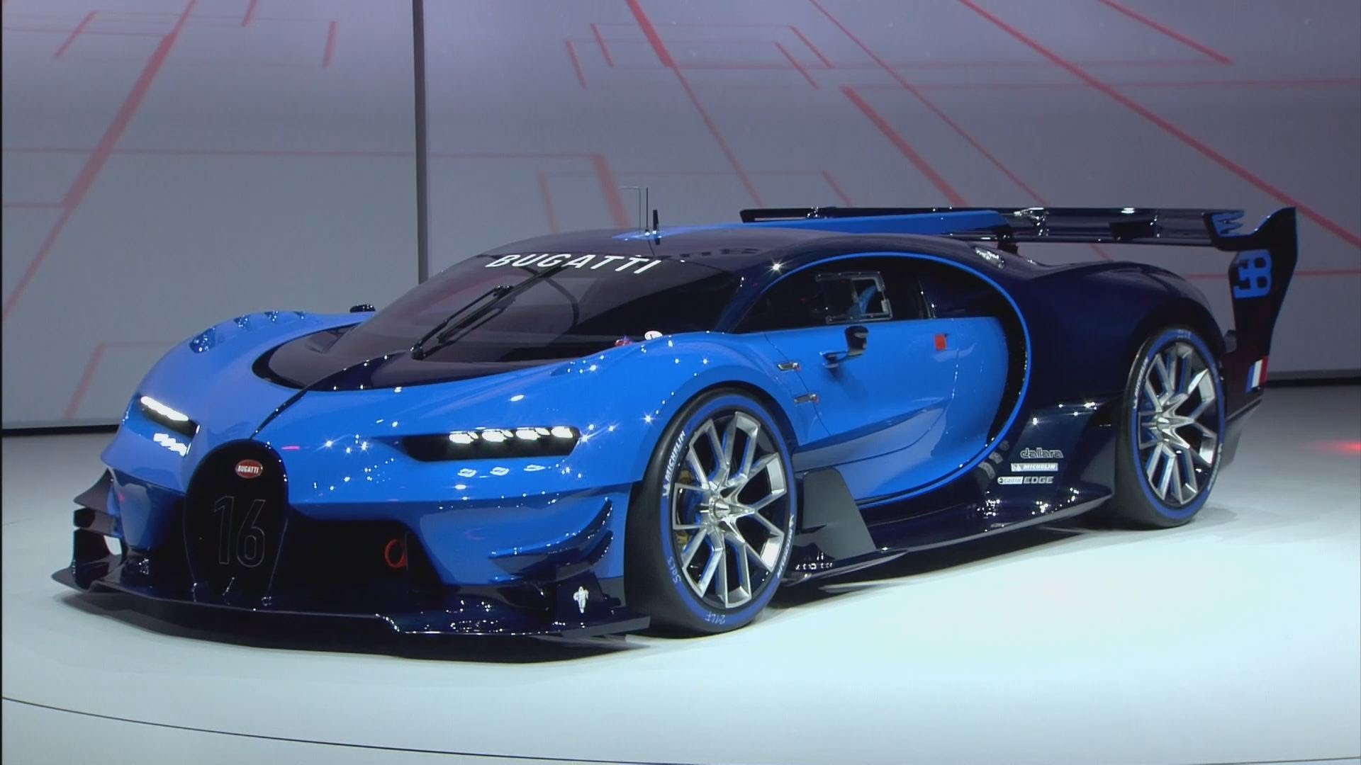 2015 Frankfurt International Motor Show - 2016 Bugatti Vision Gran on