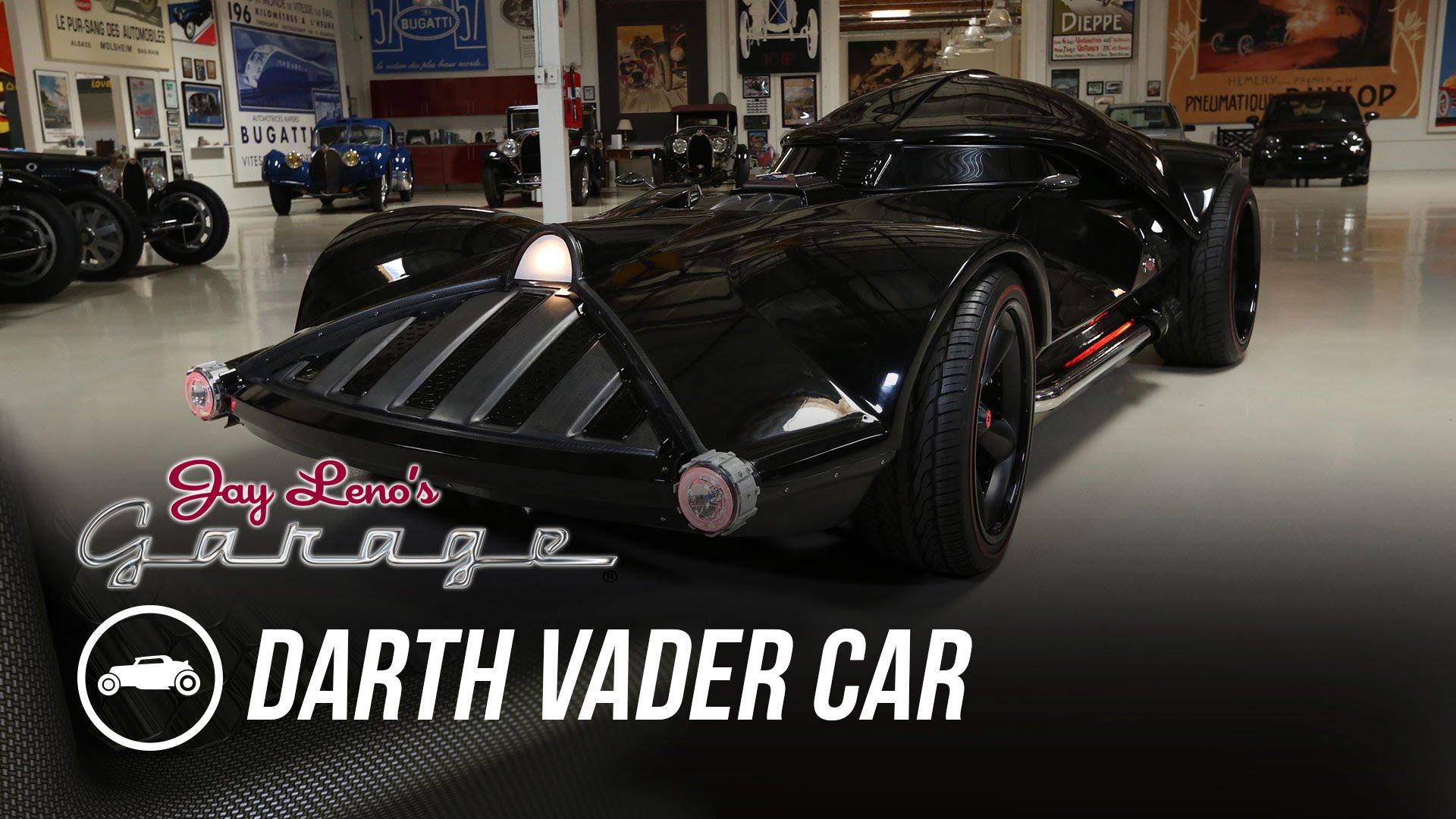 jay leno's garage - hot wheels' star wars darth vader car | auto