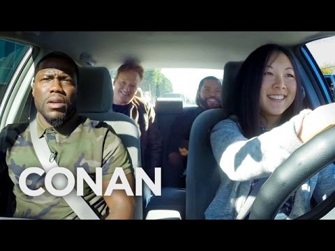 Conan, Ice Cube And Kevin Hart Give Student Driver Test