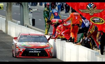 Kyle Busch Coasts To Easy Brickyard 400 Win