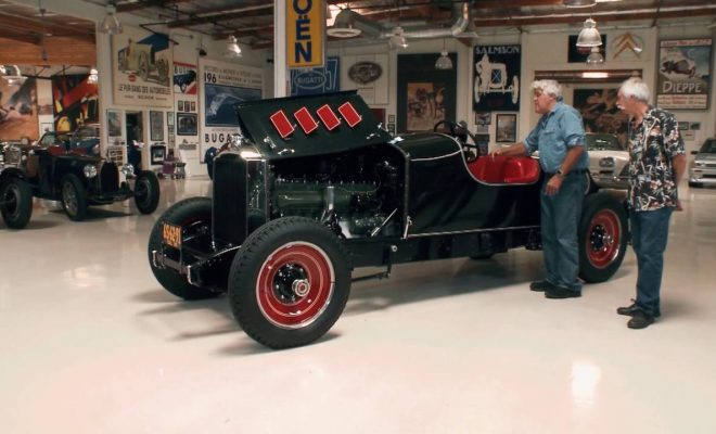 A 1929 Packard Boattail Speedster Emerges From Jay Leno's Garage