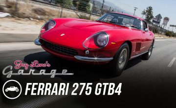 A 1967 Ferrari 275 GTB4 Rolls Out Of Jay Leno's Garage