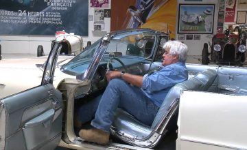 A 1958 [Chrysler] Imperial Convertible Emerges From Jay Leno's Garage