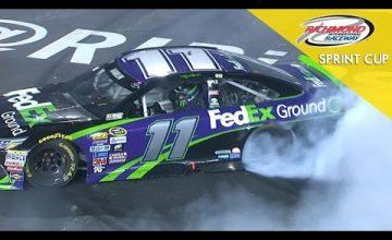 Denny Hamlin Wins NASCAR Race In Richmond