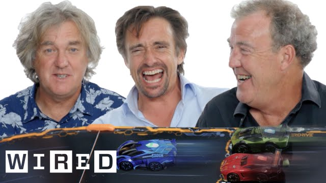 Clarkson, Hammond And May Engage In Scintillating Race
