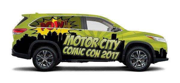 Toyota Wraps Highlander In Superhero Theme For 2017 Motor