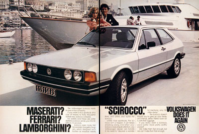 A 1980 Volkswagen Scirocco Is Part Of Friday The 13th Lore