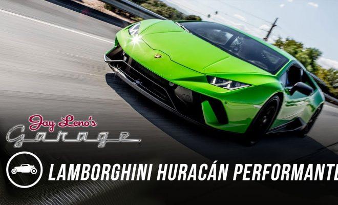 Jay Leno S Garage 2018 Lamborghini Huracan Performante Auto