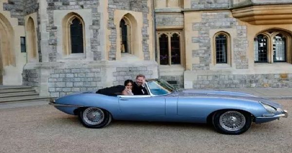 royal wedding jaguar makes an appearance | auto sports nation